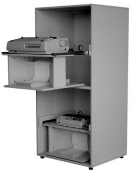 "Offener Doppeldruckerschrank ""OF-DDS 2000""-740 x 690 x 1770 mm - OF-DDS 2000 - 782,00"""
