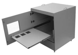 """Beheizbarer Druckerschrank für Etikettendrucker """"Etitherm""""-720 x 710 x 860 mm - Etitherm - 973,00"""""""
