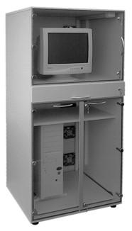 """Staubschutzschrank Typ 1 für die EDV (stehende Arbeiten)-660 x 660 x 1600 mm -SSS Typ 1 ohne Rollen - 1.043,00"""""""