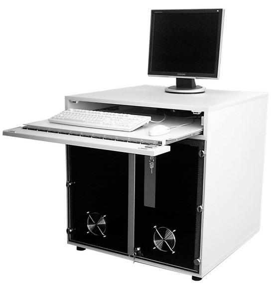 """CPU-Schrank mit Tastaturauszug """"Gigant"""""""