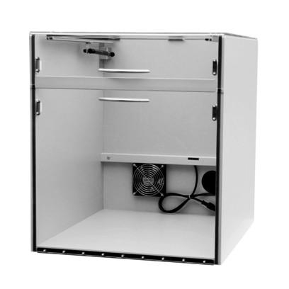 """Staubschutzgehäuse für Drucker """"GD"""" mit geteiltem Deckel-520 x 600 x 600 mm - SSG GD - 559,00"""""""